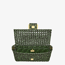 FENDI BAGUETTE - Jacquard fabric interlace bag - view 5 thumbnail