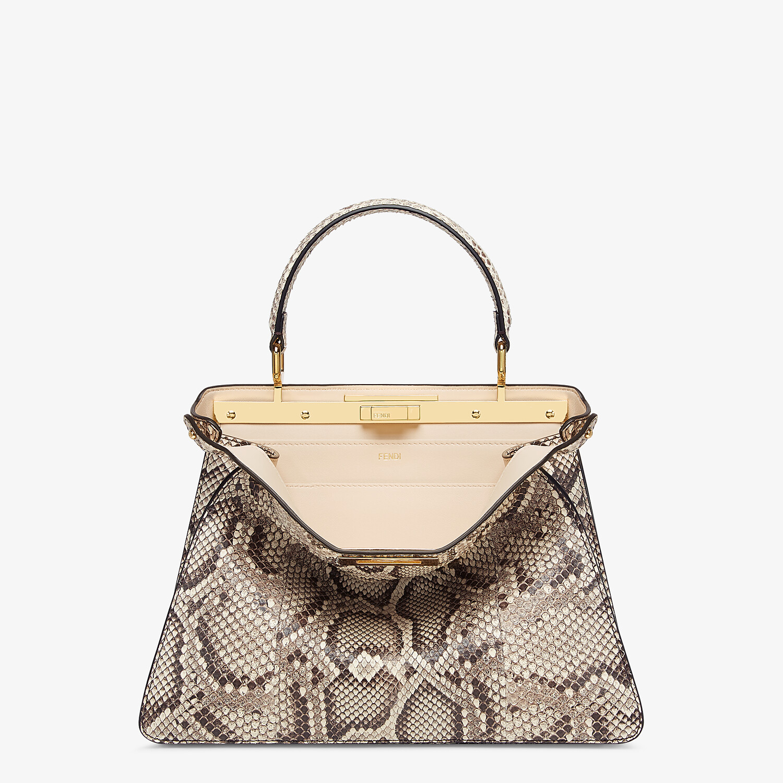 FENDI PEEKABOO ISEEU MEDIUM - Natural python leather bag - view 1 detail