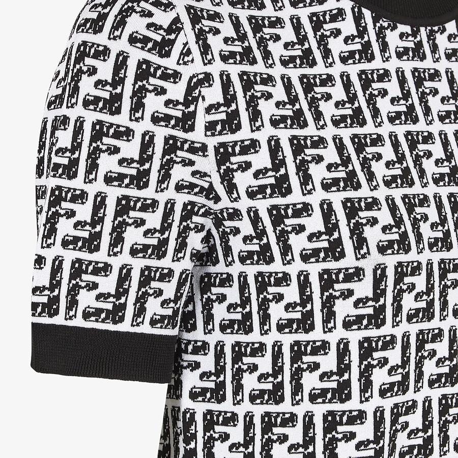 FENDI SWEATER - Fendi Roma Joshua Vides viscose sweater - view 3 detail