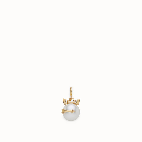 FENDI SAGITTARIUS PENDANT - Pendant with pearl - view 1 small thumbnail