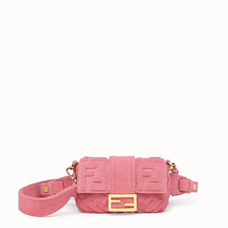 FENDI BAGUETTE - Pink terry bag - view 1 detail