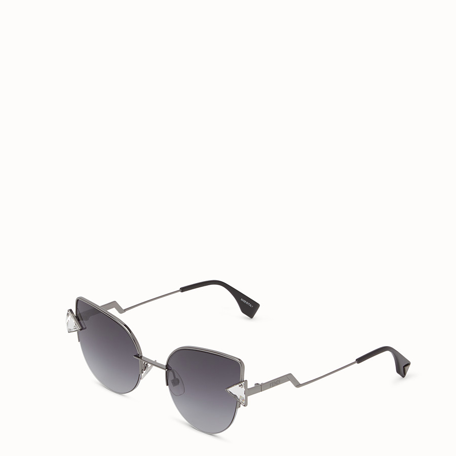 FENDI RAINBOW - 黑色太陽眼鏡。 - view 2 detail
