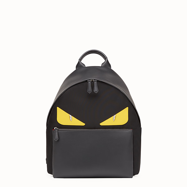FENDI BACKPACK - Backpack in black nylon - view 1 small thumbnail