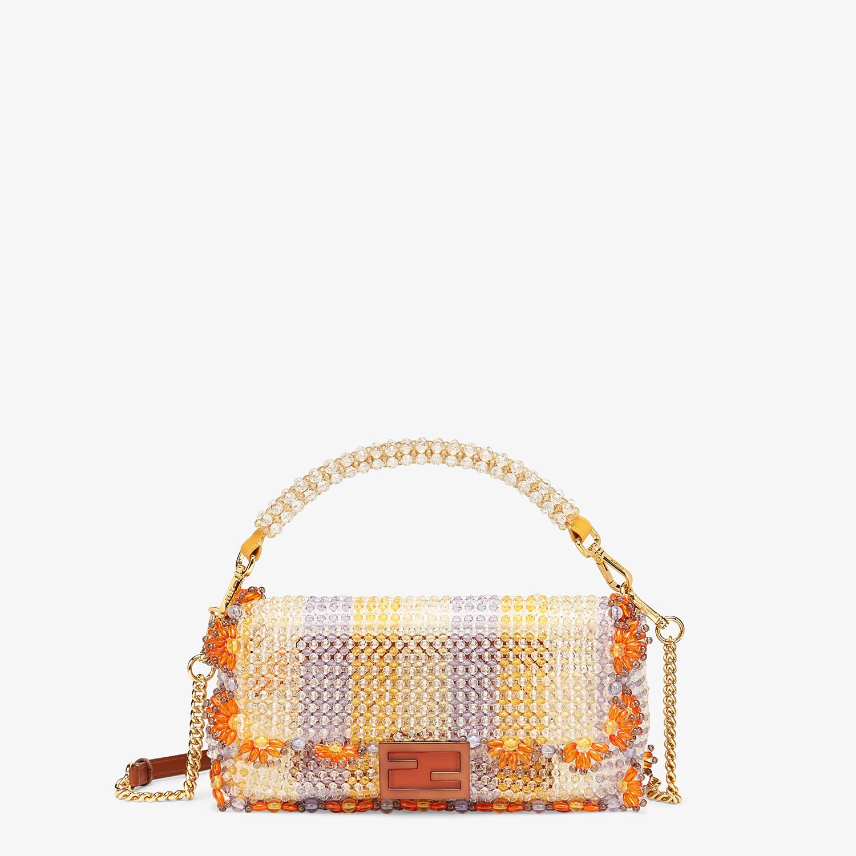 FENDI BAGUETTE - Bag with multicolour beads - view 1 detail