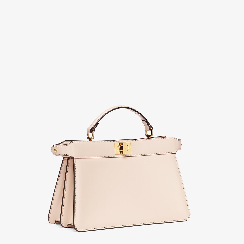 FENDI PEEKABOO ISEEU EAST-WEST - Pink leather bag - view 2 detail