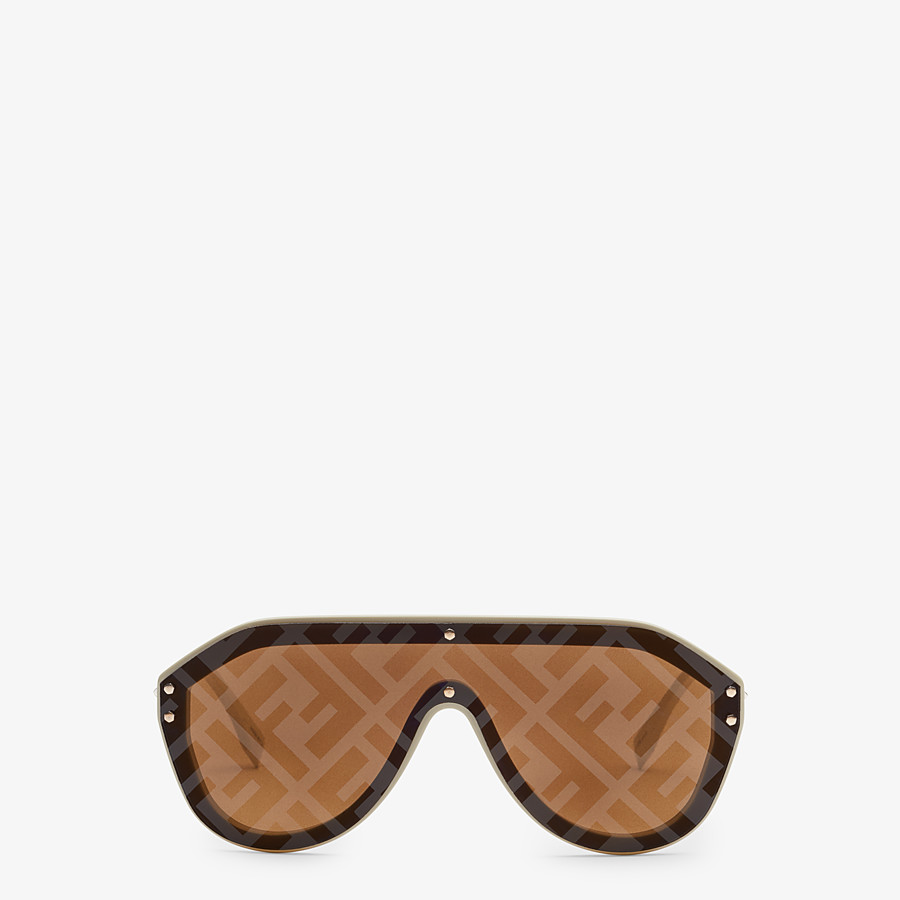 FENDI FENDI FABULOUS - Beige sunglasses - view 1 detail