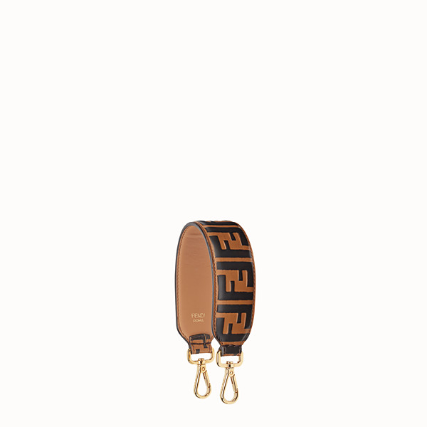 FENDI MINI STRAP YOU - Schulterriemen aus Leder - view 1 small thumbnail