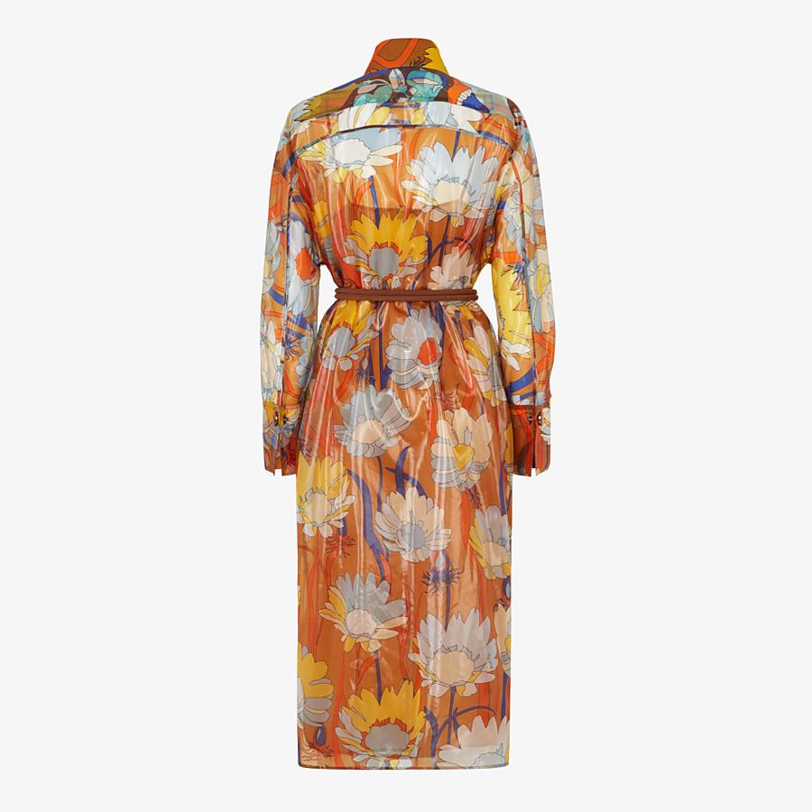 FENDI DRESS - Multicolour nylon dress - view 2 detail