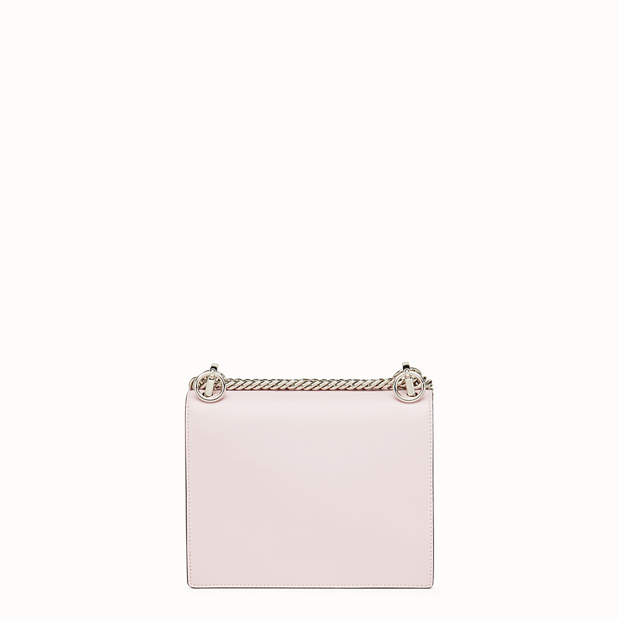 FENDI KAN I SMALL - Pink leather mini-bag - view 3 detail