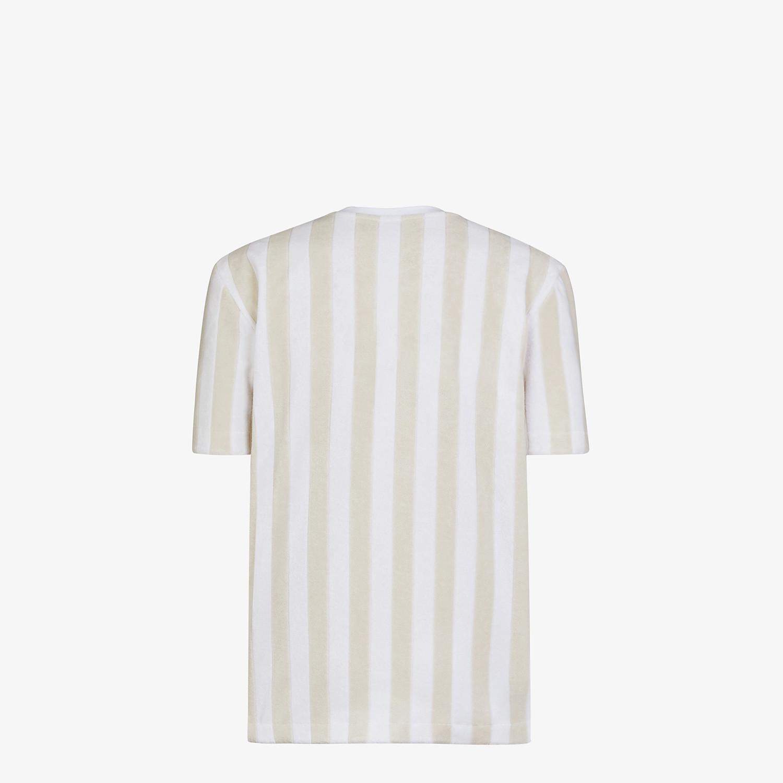 FENDI T-SHIRT - Multicolour cotton T-shirt - view 2 detail