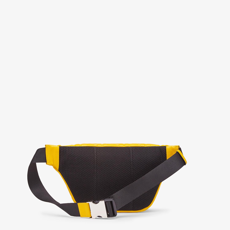 FENDI BELT BAG - Yellow nappa leather belt bag - view 3 detail