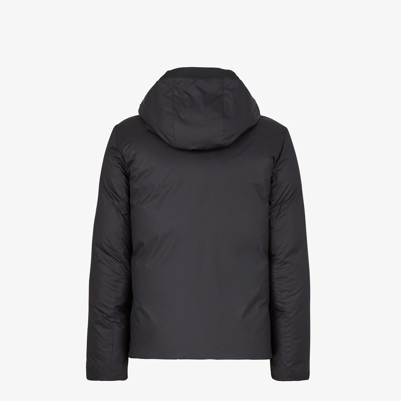 FENDI DOWN JACKET - Black tech fabric down jacket - view 2 detail