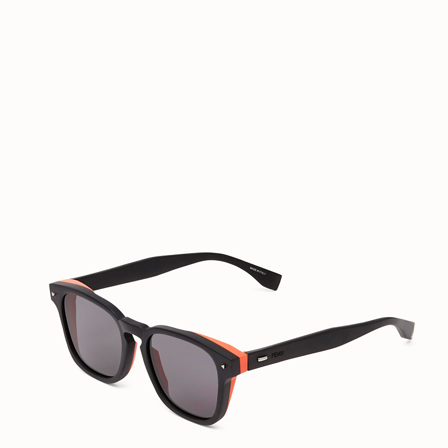 FENDI I SEE YOU - Black sunglasses - view 2 detail