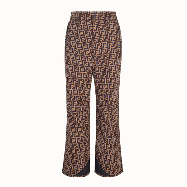 FENDI SKI TROUSERS - Multicolour tech fabric trousers - view 1 small thumbnail