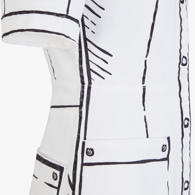 FENDI ドレス - FENDI ROMA ジョシュア・ヴィーダス デニム ドレス - view 3 detail