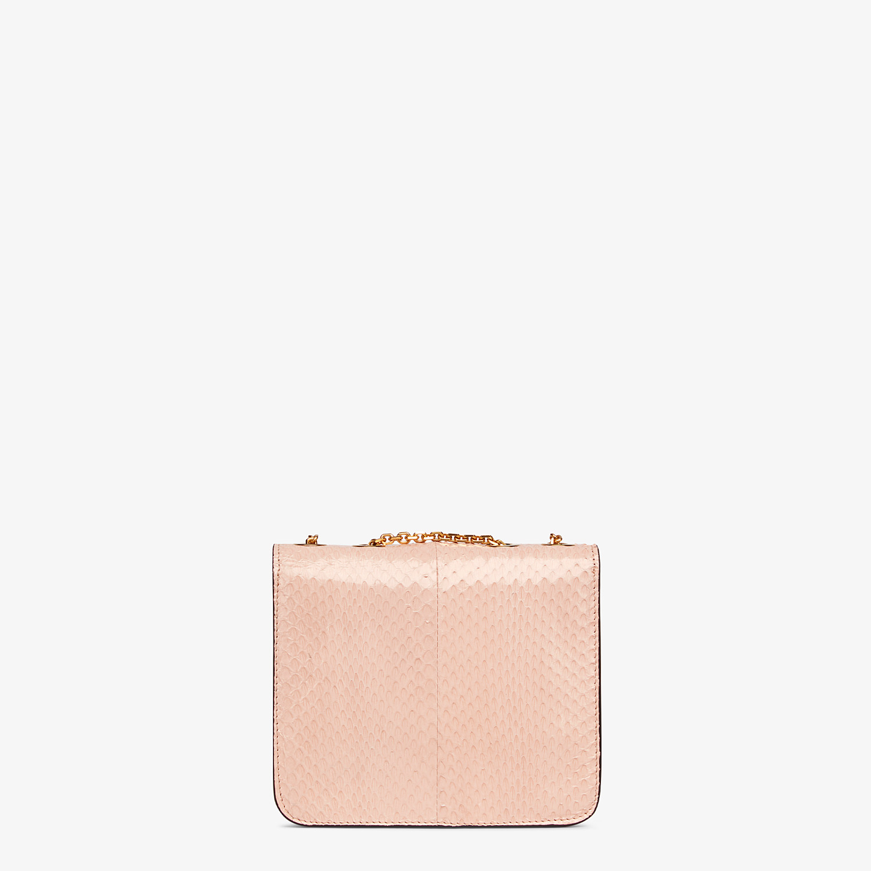 FENDI FENDI FAB - Pink elaphe bag - view 3 detail
