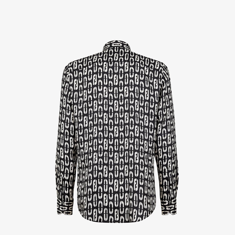 FENDI SHIRT - Multicolour silk shirt - view 2 detail