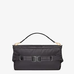 FENDI BAGUETTE FENDI AND PORTER - Black nylon bag - view 3 thumbnail