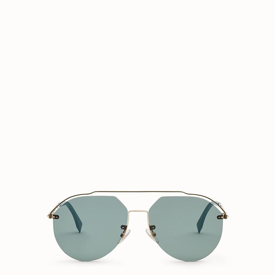 FENDI FENDI FANCY - Gold sunglasses - view 1 detail