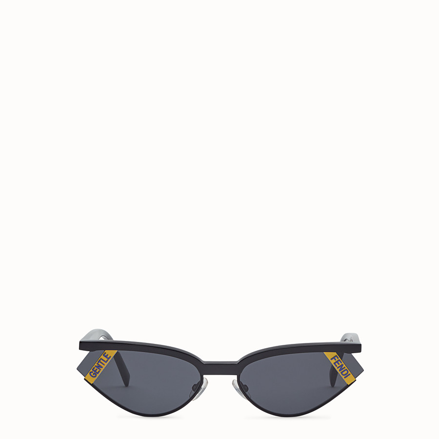 FENDI GENTLE Fendi No. 1 - Black sunglasses - view 1 detail