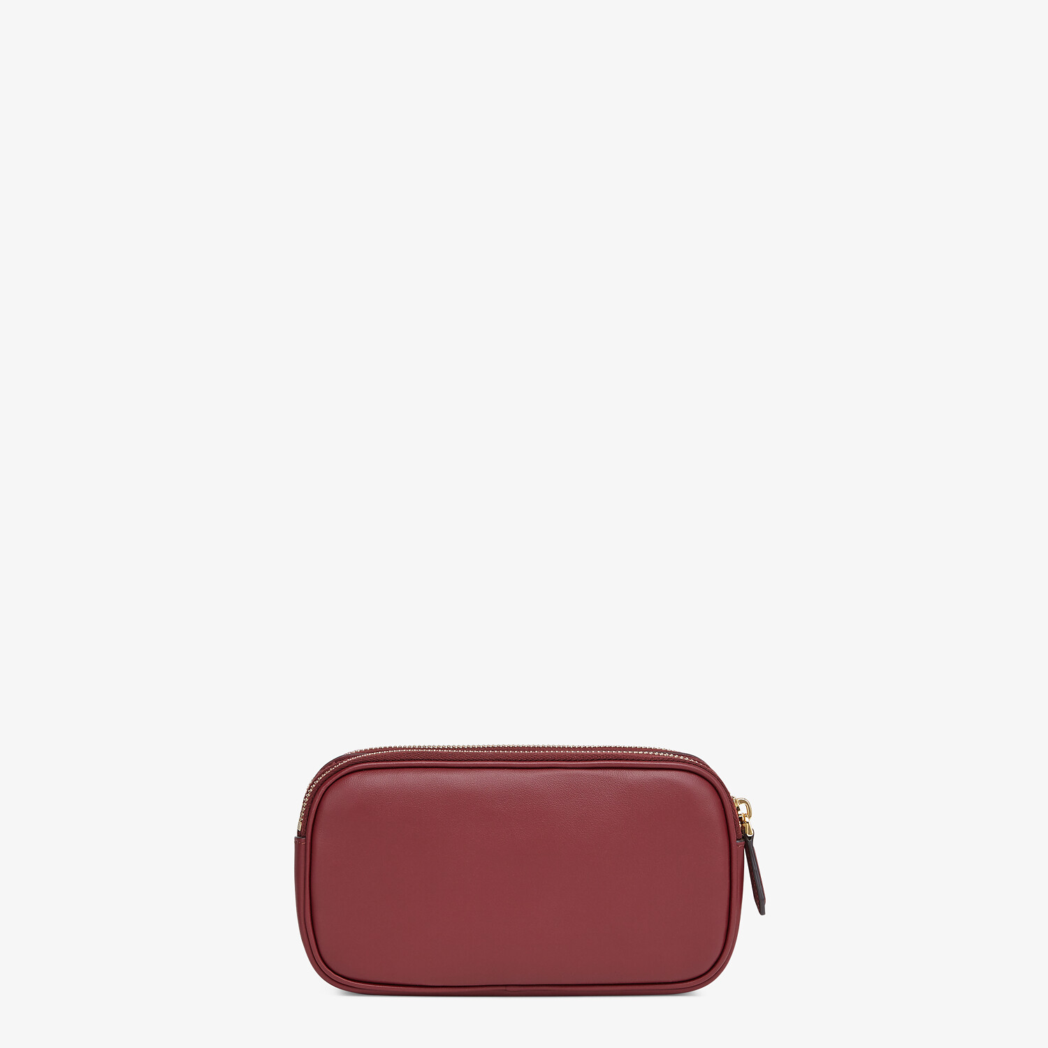 FENDI EASY 2 BAGUETTE - Mini-Tasche aus Leder in Bordeaux - view 3 detail