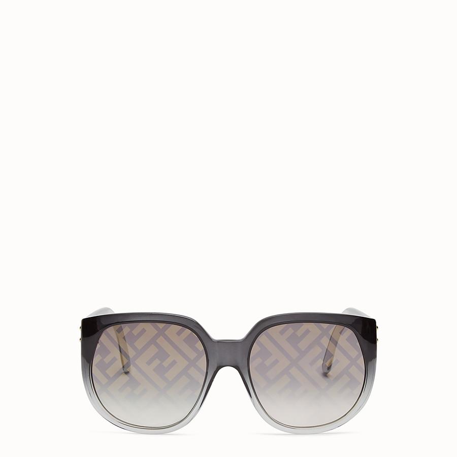 FENDI FENDI DAWN - Occhiali da sole in iniettato sfumato con logo FF - vista 1 dettaglio