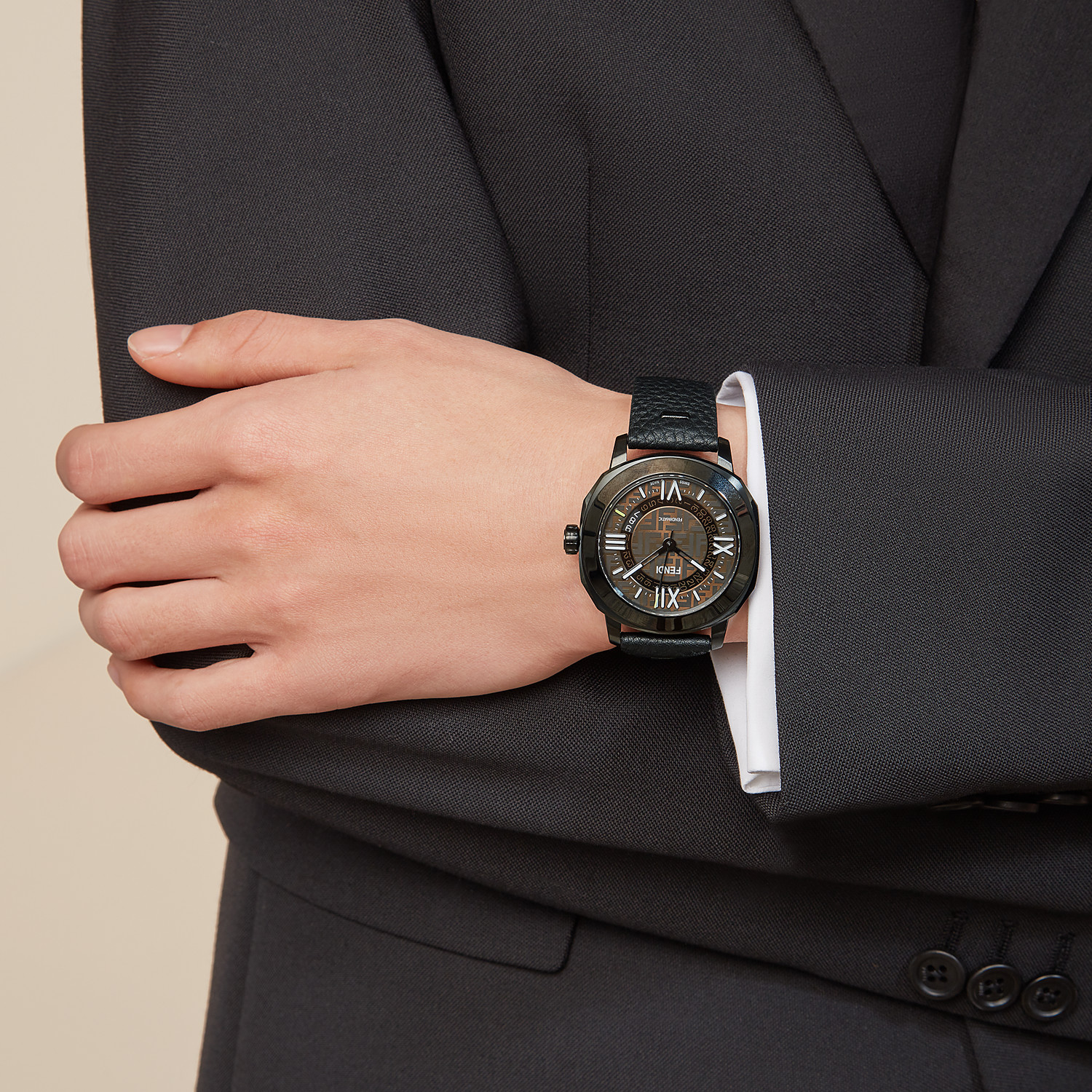 FENDI SELLERIA - 42 mm (1.7 inch) – Automatic watch with interchangeable straps - view 6 detail