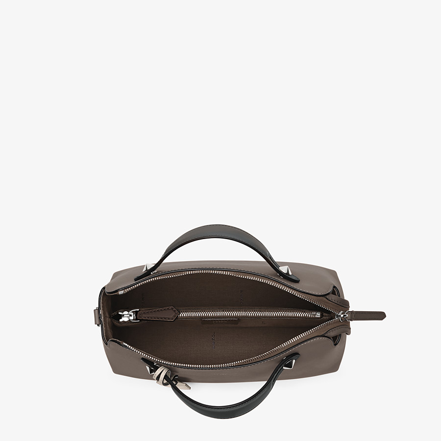 FENDI BY THE WAY MEDIUM - Small multicoloured leather Boston bag - view 4 detail