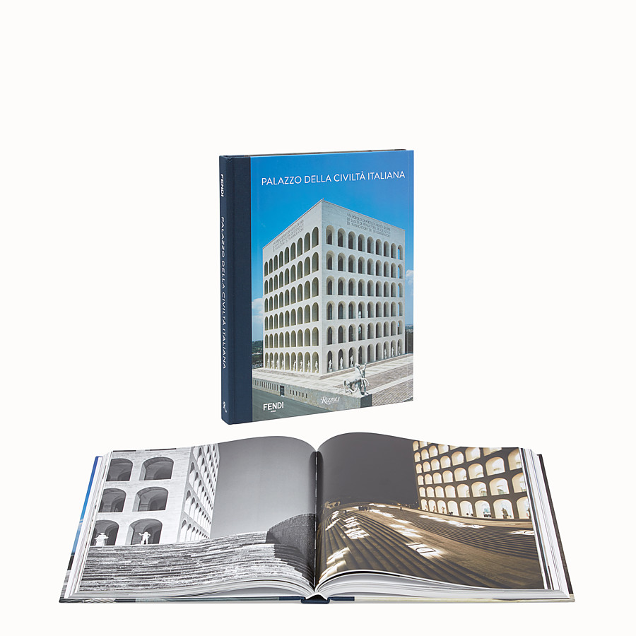 FENDI PALAZZO DELLA CIVILTÀ ITALIANA - Hardcover book available in English  - view 2 detail