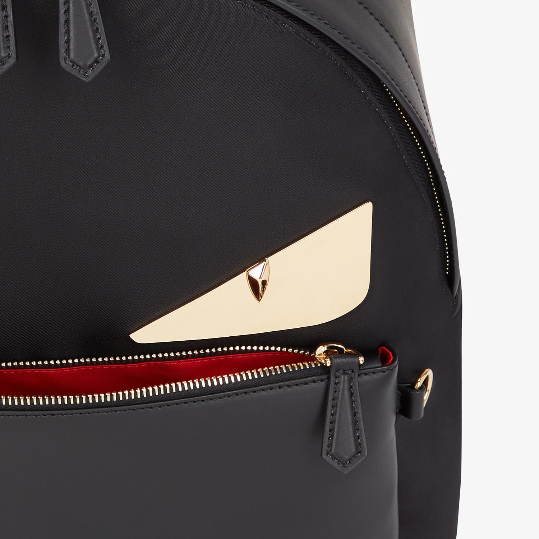 FENDI BACKPACK - Black nylon backpack - view 4 detail