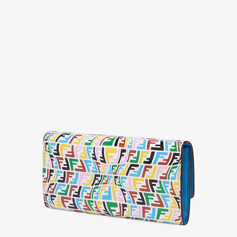 FENDI CONTINENTAL - Multicolour leather wallet - view 2 detail