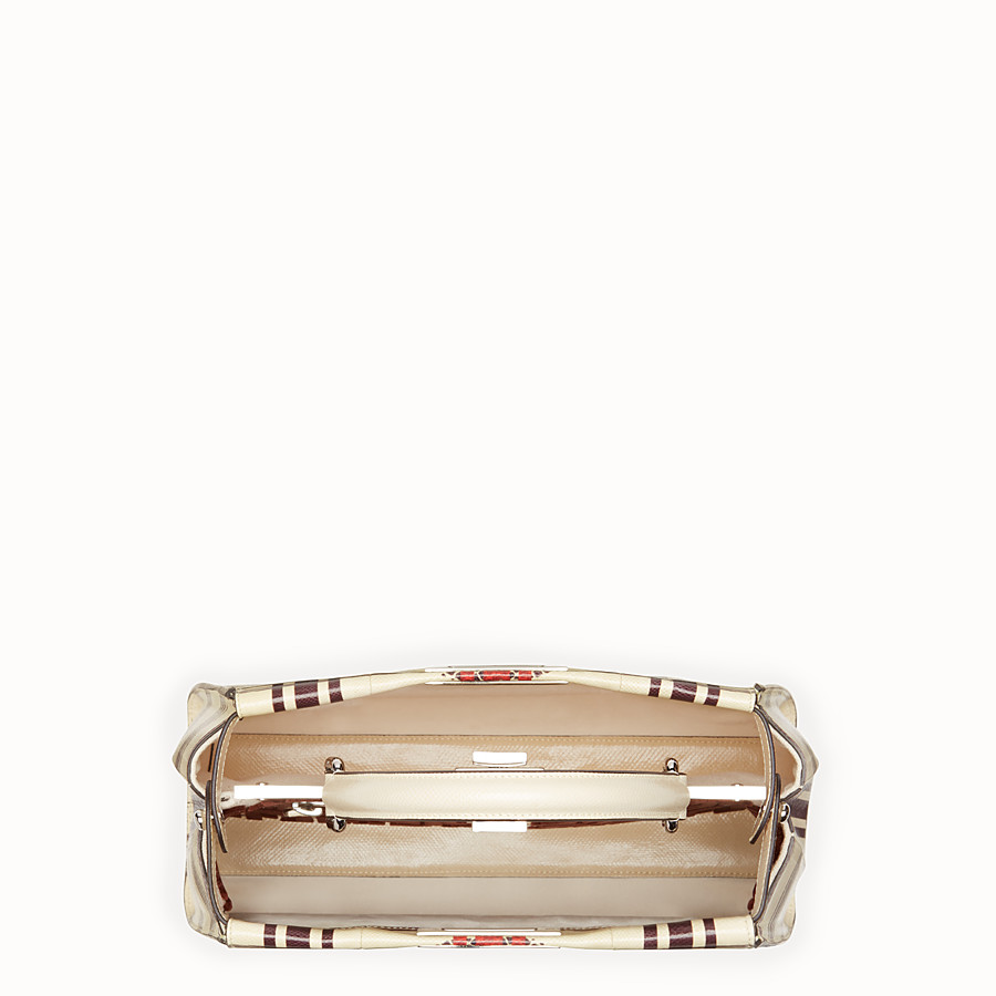 FENDI PEEKABOO REGULAR - White karung bag - view 4 detail