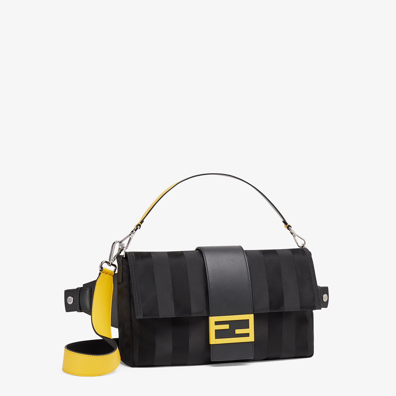 FENDI BAGUETTE LARGE - Black nylon bag - view 2 detail