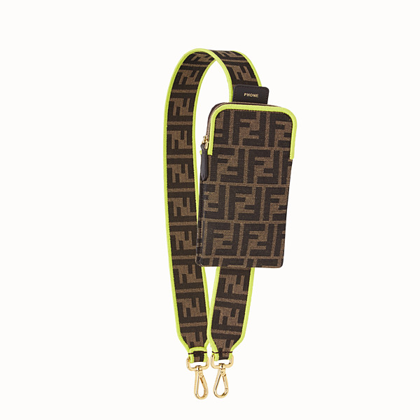FENDI STRAP YOU - Fendi Roma Amor Schulterriemen aus Stoff - view 1 small thumbnail