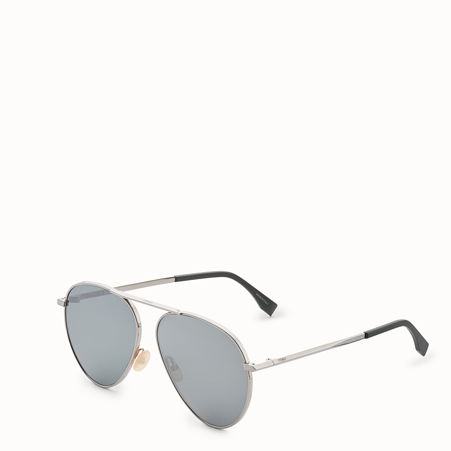 FENDI FENDI AROUND - Ruthenium sunglasses - view 2 detail