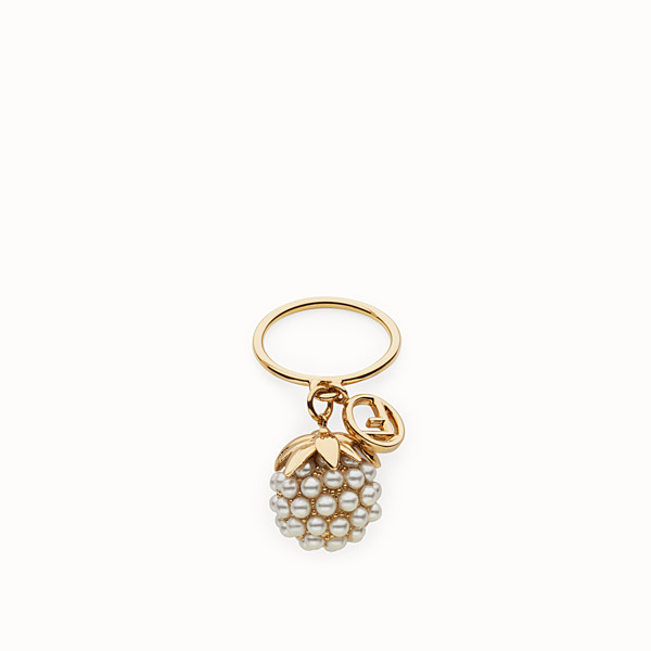 FENDI FENDI FRUIT RING - Gold colour ring - view 1 small thumbnail