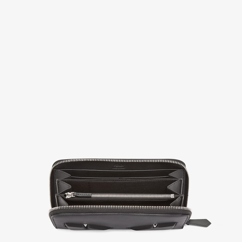 FENDI WALLET - Black leather wallet - view 3 detail