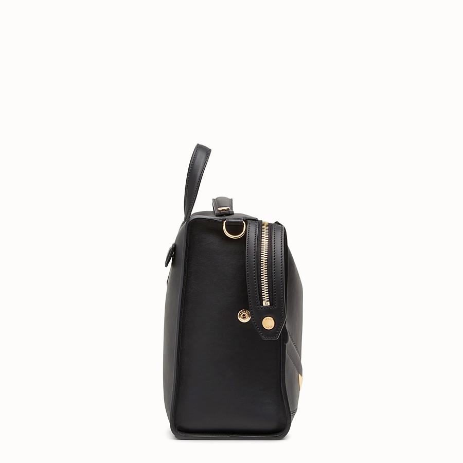 FENDI LUI 手袋 - 黑色皮革手袋 - view 2 detail