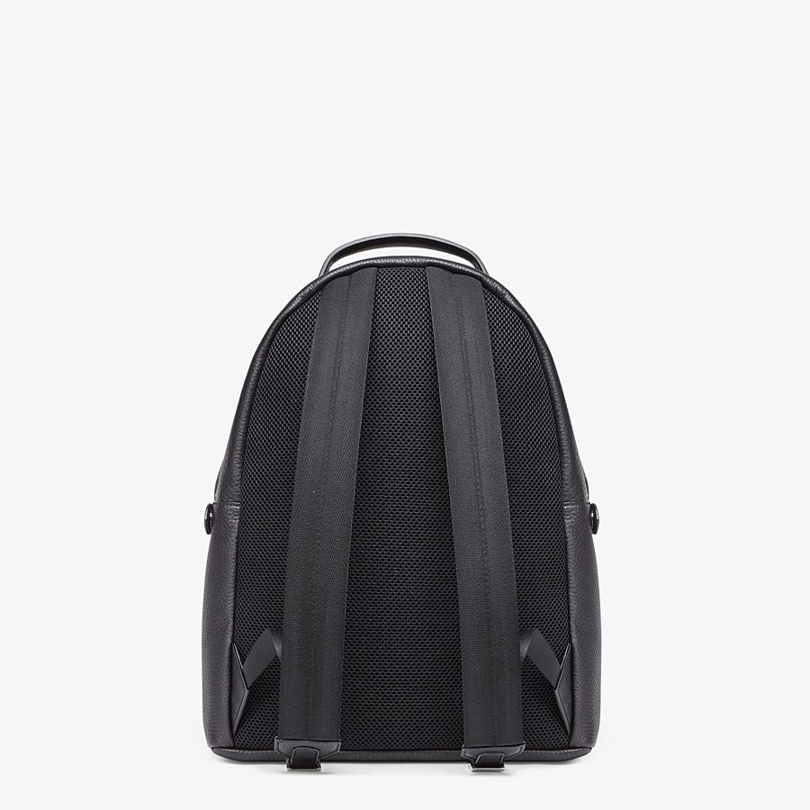 FENDI PEEKABOO BACKPACK - Black leather backpack - view 4 detail