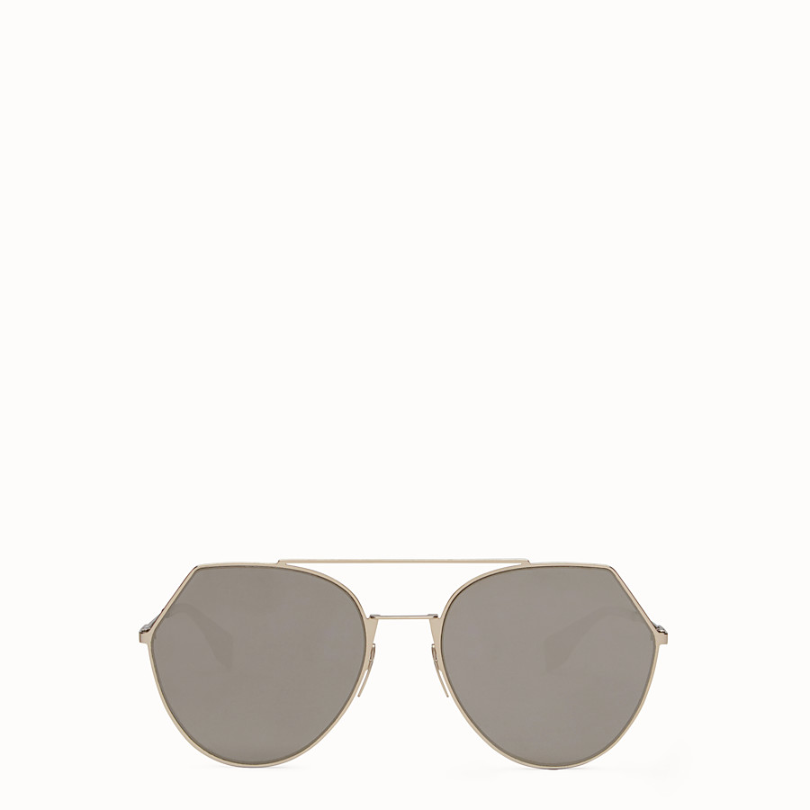 a28771f52be Gold-colored sunglasses - EYELINE