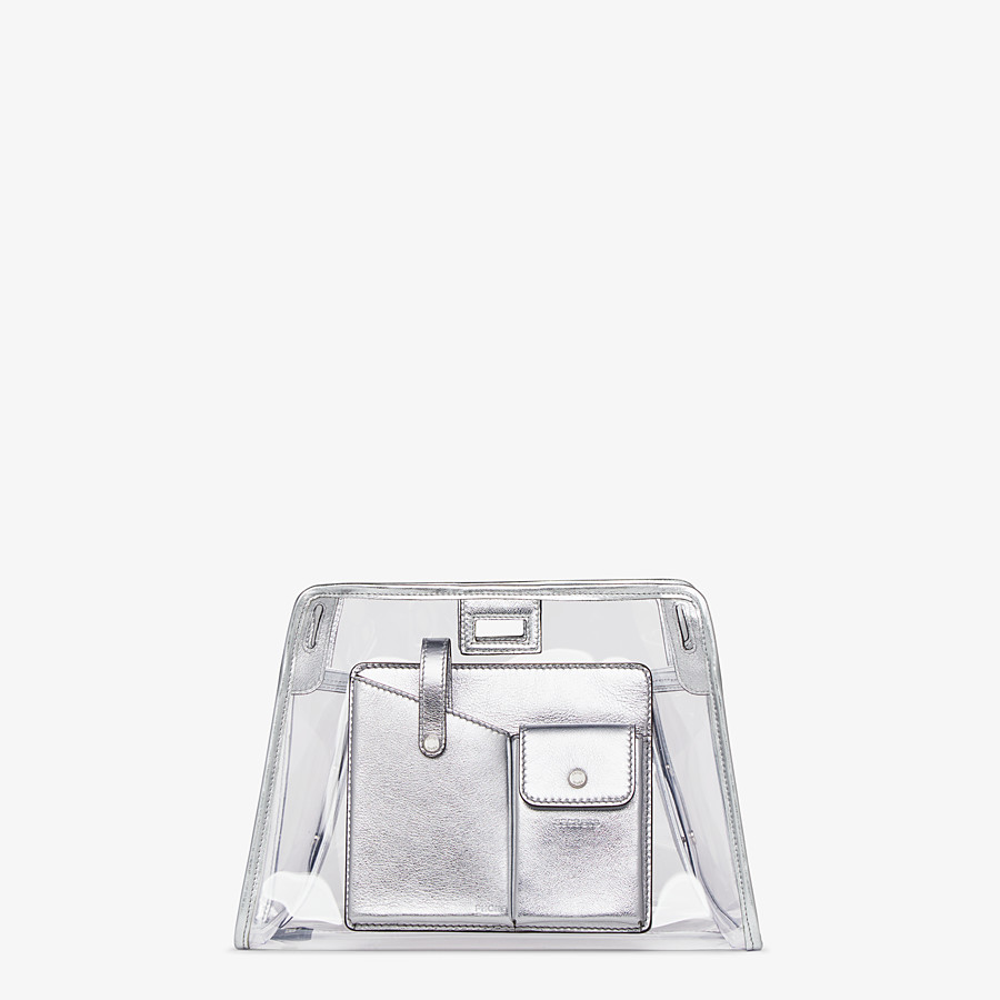 FENDI PEEKABOO DEFENDER MINI - Peekaboo cover in transparent PVC - view 1 detail