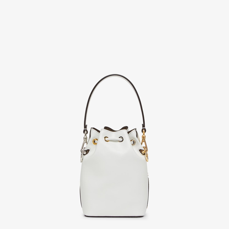 FENDI MON TRESOR - White leather minibag - view 3 detail