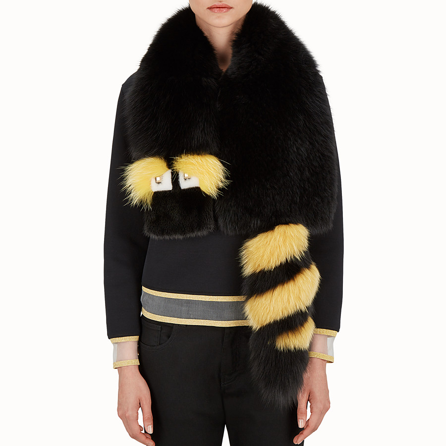 FENDI COLLAR - Gold Edition fur collar - view 3 detail
