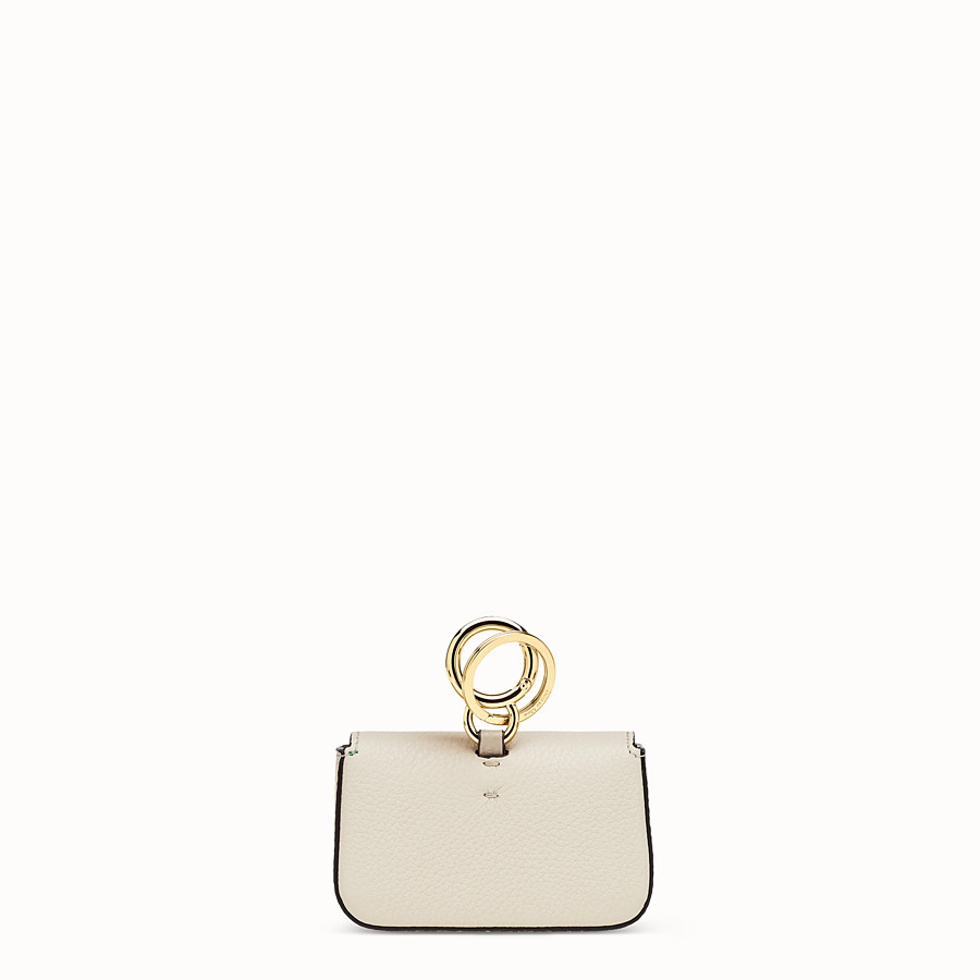 FENDI MICRO BAGUETTE CHARM - Fendi Roma Amor leather charm - view 3 detail