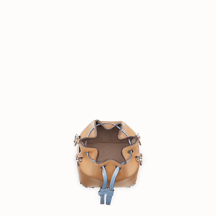 FENDI MON TRESOR - Brown leather mini-bag - view 4 detail