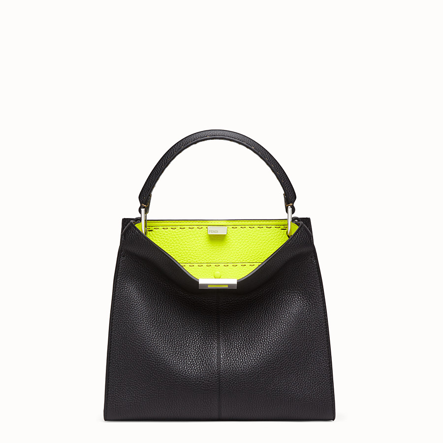 FENDI PEEKABOO X-LITE REGULAR - Fendi Roma Amor leather bag - view 2 detail