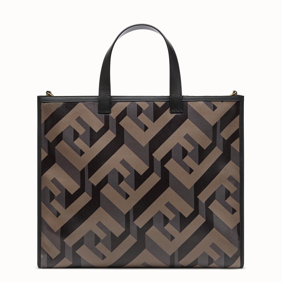 FENDI SHOPPER - Fendi Roma Amor fabric bag - view 4 detail