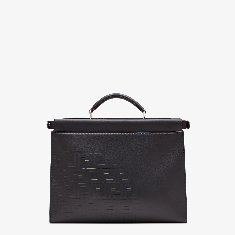 FENDI PEEKABOO ICONIC FIT - Black, calf leather bag - view 3 detail