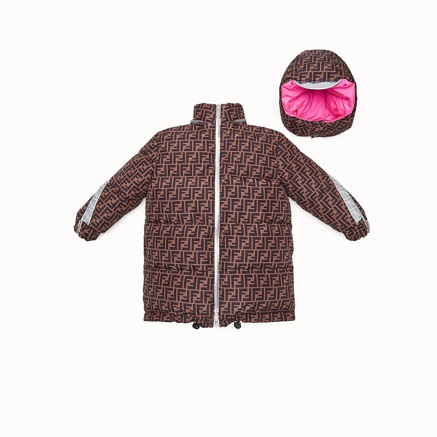 FENDI DOWN JACKET - Fendi Prints On reversible down jacket with FF logo - view 2 detail