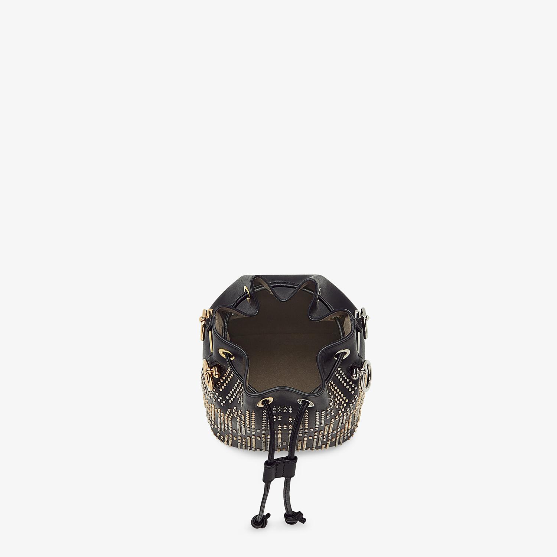 FENDI MON TRESOR - Black leather mini-bag - view 4 detail